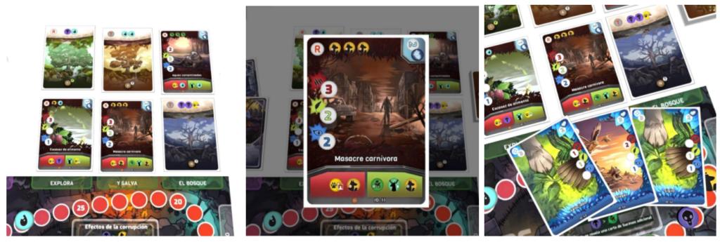 Imágenes de  combate en el prototipo de The Last Forest